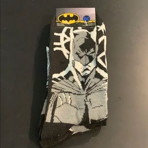 2 pack Batman socks sz 6-12
